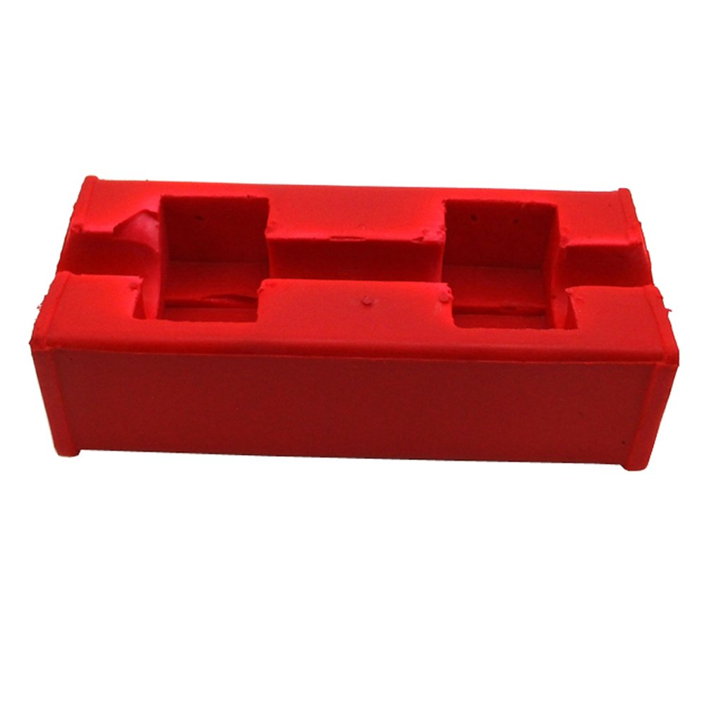 TC-Motor Red Square Fat Pad For 1 1//8 Inch 28mm Oversize Handlebar Pit Dirt Motor Bike Motorcycle Motocross ATV Quad 4 Wheeler