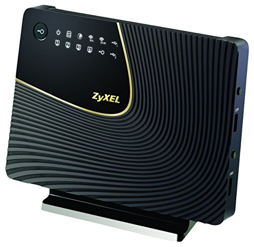 Dual-Band Wireless Ac/N Ac1750, 4 Port Gigabit Lan Ethernet Gateway by ZyXEL