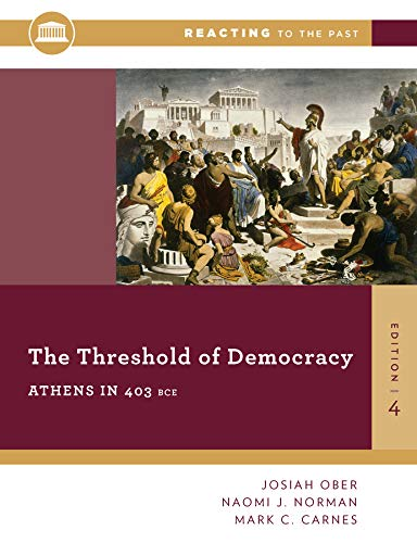 The Threshold Of Democracy: Athe...