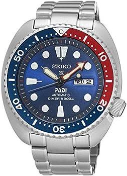 Seiko Prospex Automatic Diver Silvertone Men's Watch