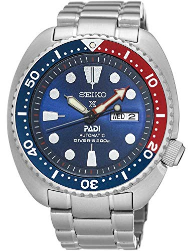 Seiko Men's SRPA21 Prospex X Padi Analog Hand and automatic, - Link Magnetic Ring
