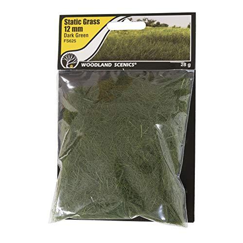 Woodland Scenics FS625 Static Grass, Dark Green - Scenics Woodland Static Grass