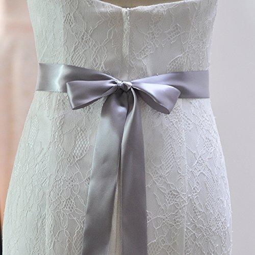 Fusciacche Cinghia Di Cristallo Nuziale Cinture Ghigliottina Matrimonio Delle Donne Azalee Per La Cerimonia Nuziale Grigio Scuro