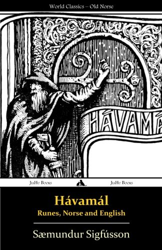Hávamál - Runes, Norse and English (Icelandic Edition)