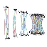 bread board for arduino - Jumper Wires Male to Male, SIM&NAT Solderless Breadboard Jumpers Cables for Electronic Breadboard & Arduino (130 pieces)