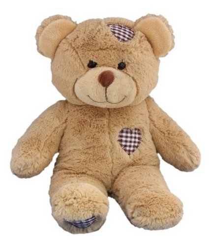 5d1fe4fbe2a Amazon.com  Personalized Long Message Recordable 15 Inch Talking Teddy Bear  with 60 seconds of Recording Time  Toys   Games