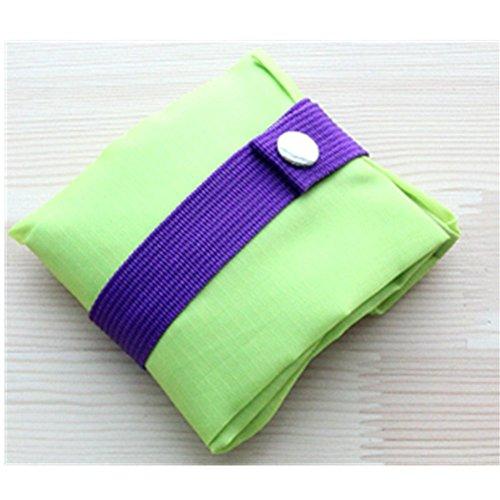 KAKA(TM) Polyester Portable Waterproof Travel Shoe Storage Bag Pouch-(13.4*10.6 inch )-Green (M)