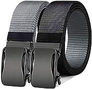 Cinturón de trinquete reversible, Bulliant Cinturón deportivo de golf para hombre para pantalones vaqueros cas