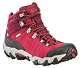 Oboz Bridger Mid B-Dry Hiking Boot - Women's-Rio 22102-Rio Red-Wide-085