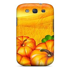 Galaxy S3 Cover Case - Eco-friendly Packaging(the Pumpkin Patch)