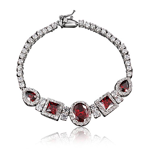 Top Level Quality Ruby Sapphire Emerald Bracelet for Bride - Ruby Bracelet Sapphire Emerald