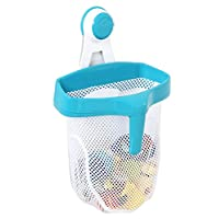 Regalo Super Suction Bath Toy Scoop Drain & Organizer, Includes Suction Hangi...