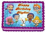 bubble guppies sheets - Bubble Guppies 1/4 Sheet Edible Photo Birthday Cake Topper. ~ Personalized!