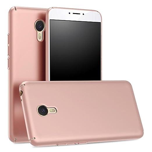 8 opinioni per Oro Rosa Ultra Sottile Custodia Cover Case + Pellicola Protettiva Per Meizu m3