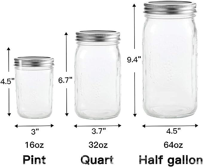 Kit per Realizzare Organico Sprout Semi in Casa G.a HOMEFAVOR 4 Pezzi Coperchio di Germinazione in Acciaio Inox e Silicone Coperchi per la Germinazione di Semi