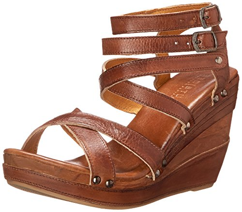 Bed|Stu Women's Juliana Platform Sandal, Tan Rustic, 8 M US