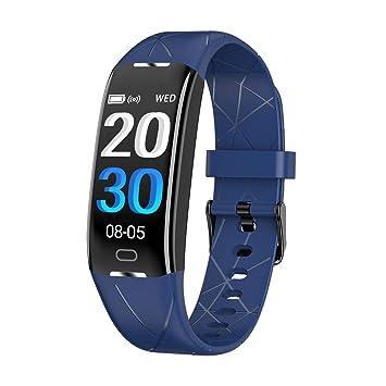 Montre Connectée Femmes Homme Bracelet Connecté Podomètre Cardiofréquencemètre et Tension Artérielle GPS Smartwatch Sport Montre Cardio
