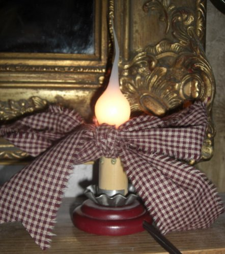 Candle-like Bulb... Save $ on Discount Box of 12. Softer Glow, 3 Watt Large Silicone Dipped Light Bulbs. Exclusive Home Interior Accessories by Colonial Tin Works (Image #3)