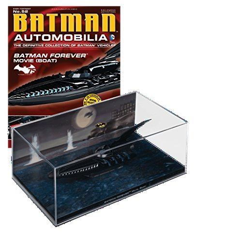 DC BATMAN AUTOMOBILIA FIGURINE COLLECTION MAGAZINE #52 FOREVER MOVIE BOAT