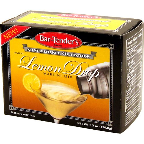 Lemon Drop Bar-Tenders Instant Cocktail Mix: Box - 6 (Lemon Drop Mixer)