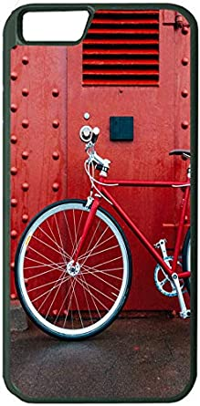 b968835668d1 Image Unavailable. Image not available for. Color  Bicycle Red Wall Apple 8  8S iPhone 8 8S Case ...