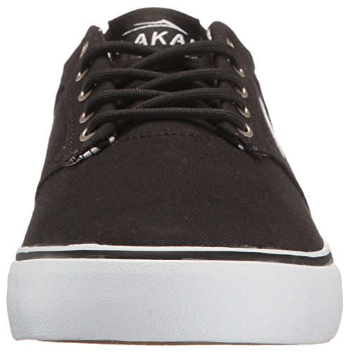 Lakai Mens Shoe Skateboard Portiere Tela Nera