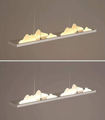 LED Dimmable Lustre Flamme Modélisation Lampe Suspendue ...