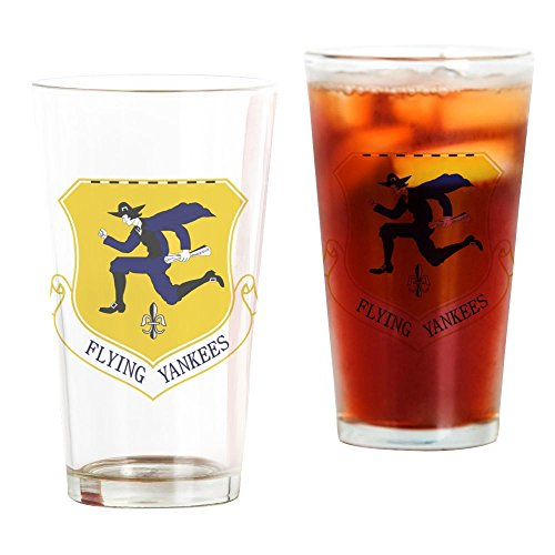 - CafePress 103Rd FW - Flying Yankees Pint Glass, 16 oz. Drinking Glass