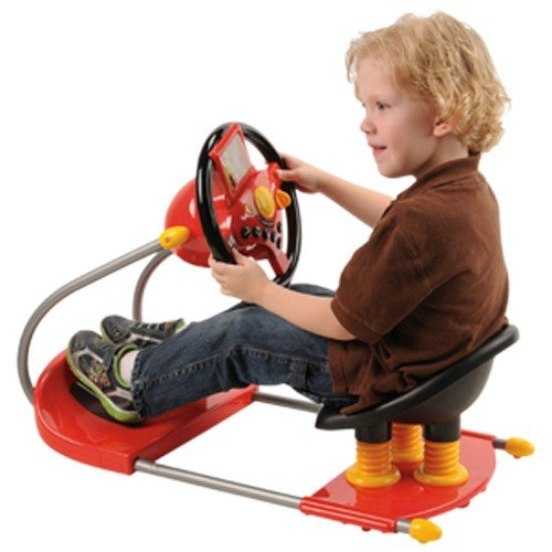 CP Toys Battery-operated Sit On Simulated Driver