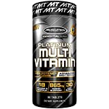 MuscleTech Advanced Daily Multivitamin for Men & Women, Includes Amino Acids, 18 Vitamins & Minerals (100% Daily Vitamins A, C, D, E, B6 & B12), 90 Count For Sale