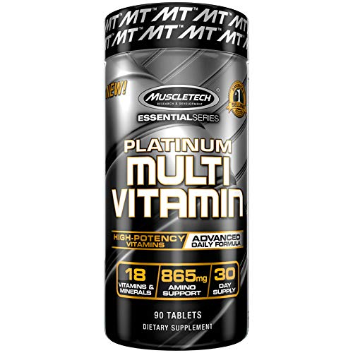 MuscleTech Advanced Daily Multivitamin for Men & Women, Incl