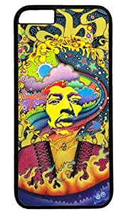 Jimi Hendrix Customizable iphone 6 Case by icasepersonalized