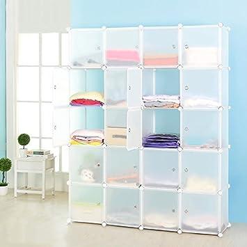 amazon com vuhom cubby shelving closet system cube organizer rh amazon com Wire Storage Shelves Closet DIY Closet Shelves
