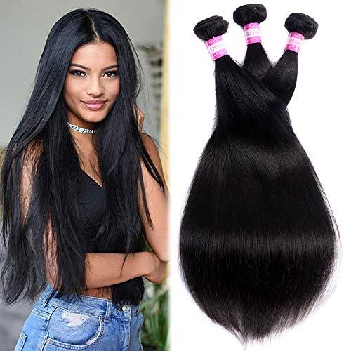 Peruvian Straight Human Hair 3 Bundles (10