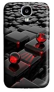 Samsung S4 Case 3D Cube 3D Custom Samsung S4 Case Cover