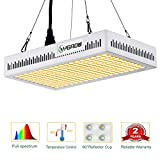 LED Grow Light Full Spectrum 600W,Reflector-Series Plant Grow Lights for Indoor Plants Veg