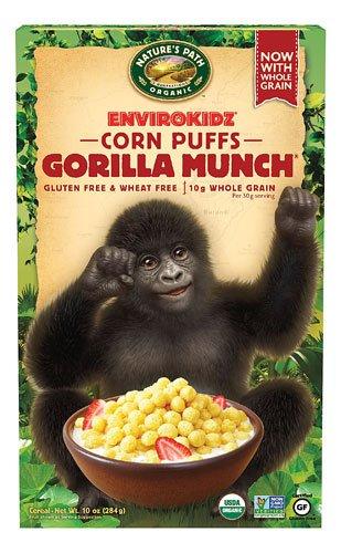 Kidz? Organic Gorilla Munch? Cereal -- 10 oz - 2 pc ()