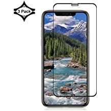 Live2Pedal Glass Screen Protector Designed for iPhone Xs Max [9H Hardness][Full Cover][No Bubbles] Compatible with Apple iPhone Xs Max [6.5 Inch][3 Pack]