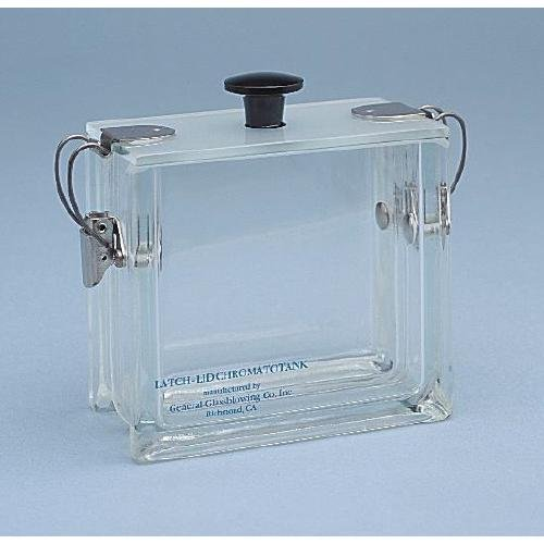 General Glass Blowing 60-33TL Chromatotank, Thin Layer, 10 cm