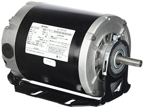 Fan Motor Insulation - Century formerly AO Smith GF2054 1/2 hp, 1725 RPM, 115 volts, 48/56 Frame, ODP, Sleeve Bearing Belt Drive Blower Motor