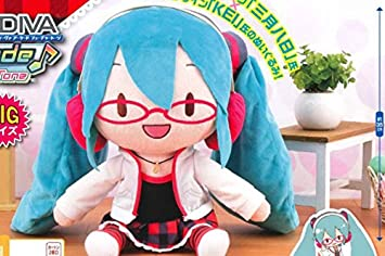 Hatsune Miku Project DIVA Arcade Future Tone Mega Jumbo Plush Natural Stuffed