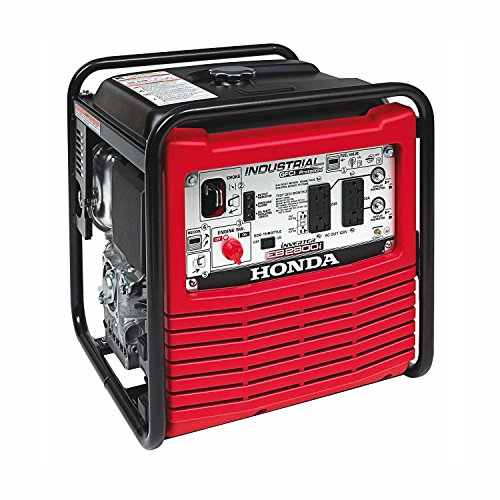 Honda Power Equipment EB2800IA Power Equipment, 2800W, 120V Inverter Portable Gas Generator, Steel by Honda