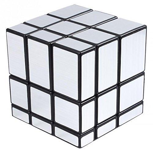 Shengshou 3x3x3 Puzzle Magic Mirror Cube Silver