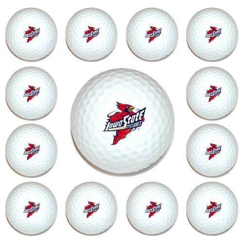 NCAA Iowa State University 12-Pack Team Golf Balls, Outdoor Stuffs