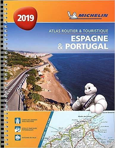 Atlas Espagne & Portugal Michelin 2019