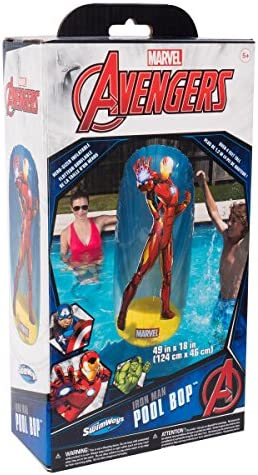 Amazon.com: SwimWays Marvel Avengers inflable piscina Bops ...