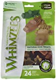 Whimzees WHZ322 24 Count Alligator Value Bag Doggie Dental Chews, Small