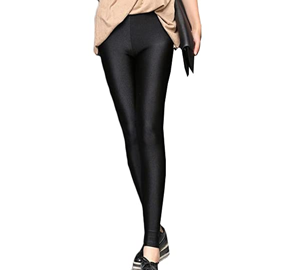 MOMTUESDAYS2 Women Skinny Leggings Stretchy Tight Leggings Pants Pencil  Jeggings (M 7f93121125