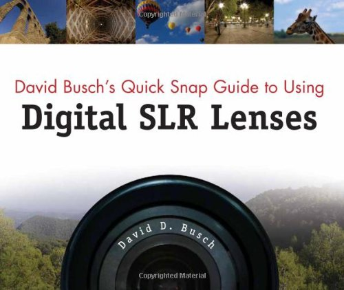 David Busch's Quick Snap Guide to Using Digital SLR ()
