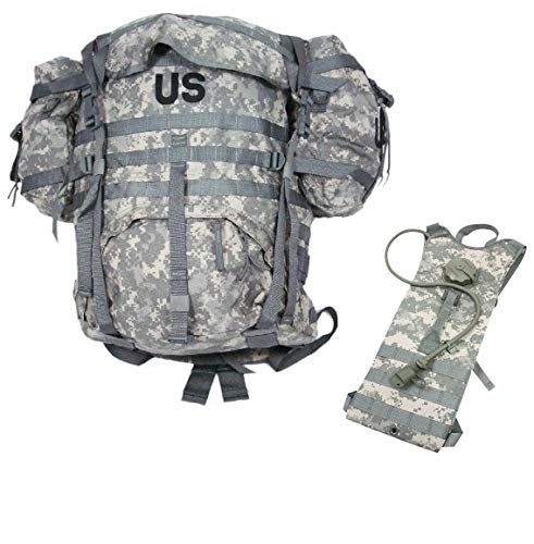 US Military Surplus MOLLE Backpack (Rucksack with Hydration Pack Set)